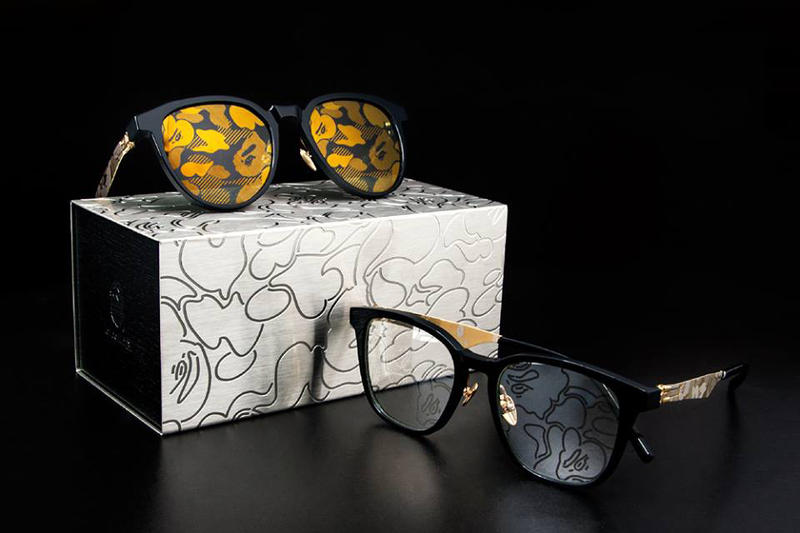 BAPE & ic! berlin Put Camo on Sunglasses for New Eyewear Collaboration