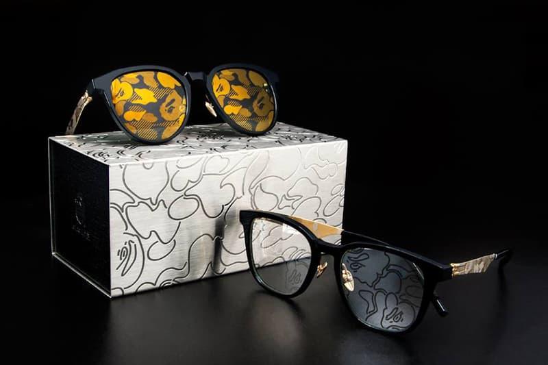 BAPE A Bathing Ape ic berlin sunglasses glasses camo eyewear collaboration