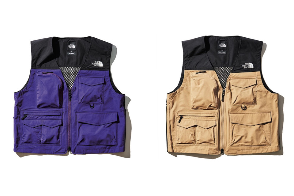 61daec4859dc BEAMS   The North Face Reconnect for Special Summer 2018 Capsule. Technical  vests ...