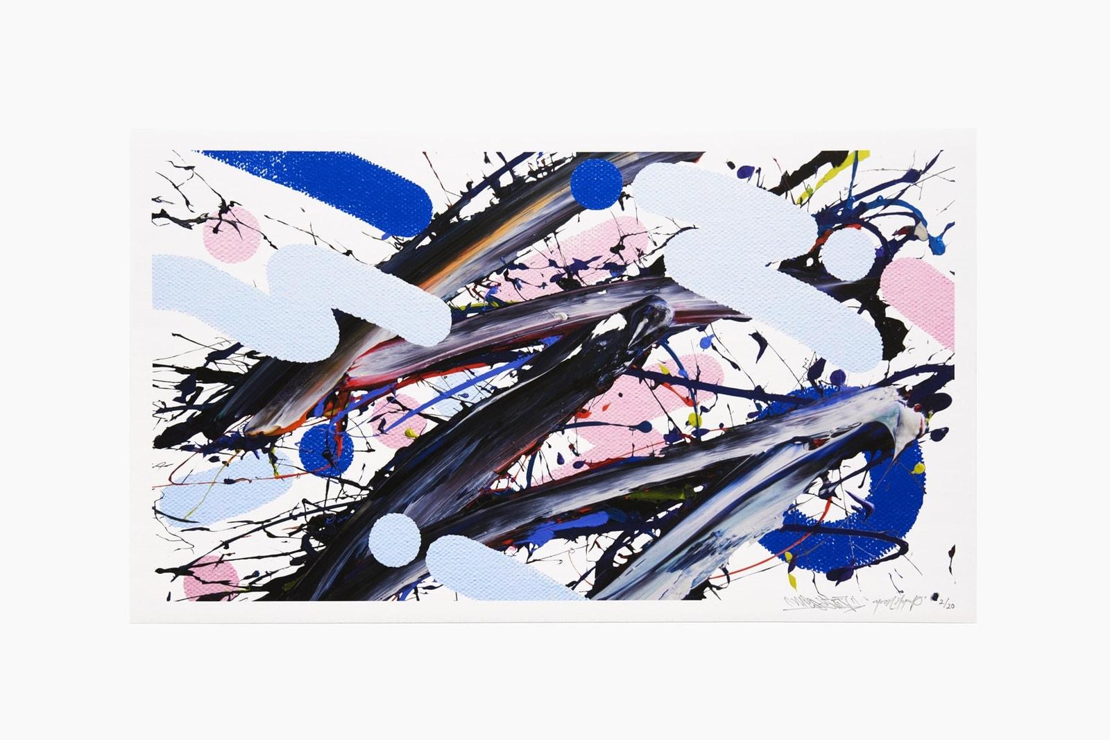 adam lucas alex chinneck james jirat meguru yamaguchi yoon hyup art artworks prints paintings sculptures