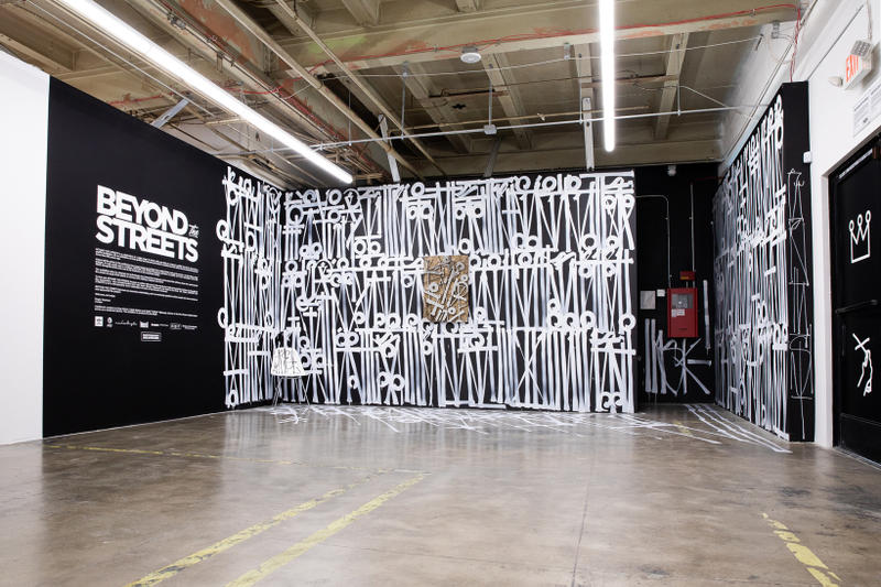 beyond the streets street art festival 2018 roger gastman takashi murakami felipe pantone faile faith47 futura mister cartoon murals street art graffiti installations exhibitions