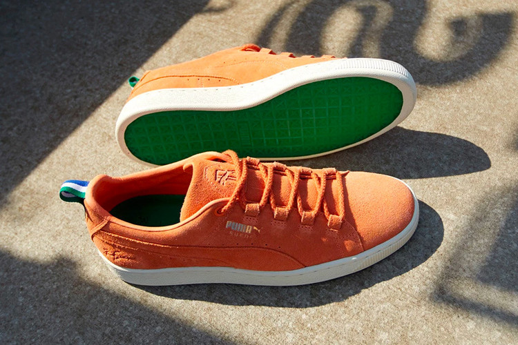 c844ee3e1af8c0 Big Sean x PUMA Second Collection Drops Colorful Suede and Clyde Models