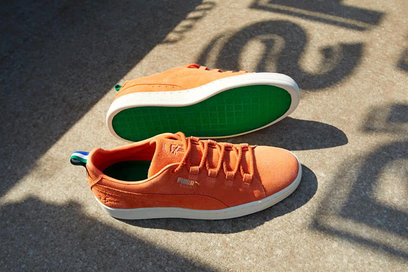 Big Sean x PUMA suede orange