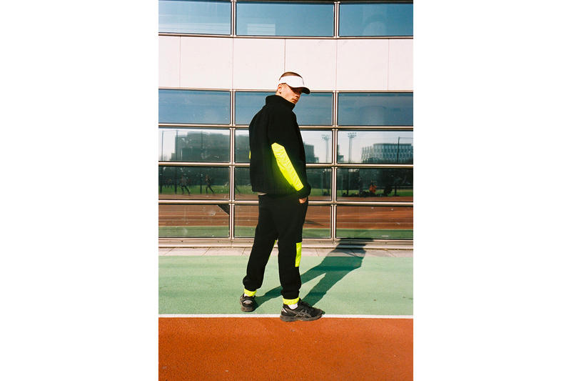 BOYHOOD x ASICS Collection Lookbook release date streetwear sneaker france campaign