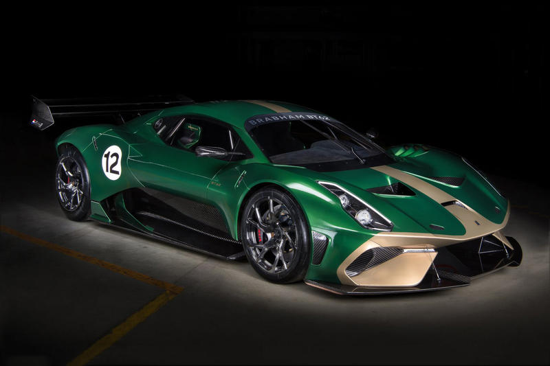 Brabham BT62 Supercar Teaser Race Car Supercar British racing Le Mans Luxury RWD Exhaust McLaren