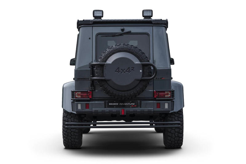 BRABUS G-500 Adventure 4x4 Off Road Vehicle Mercedes SUV Pricing Information Release