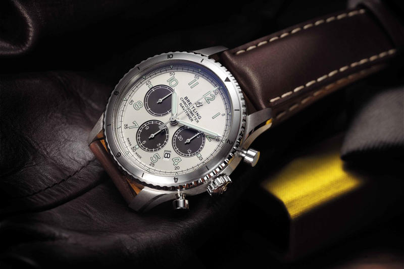 Breitling Aviator Navitimer 8 MR PORTER june 8 2018 release date info drop watch limited edition exclusive
