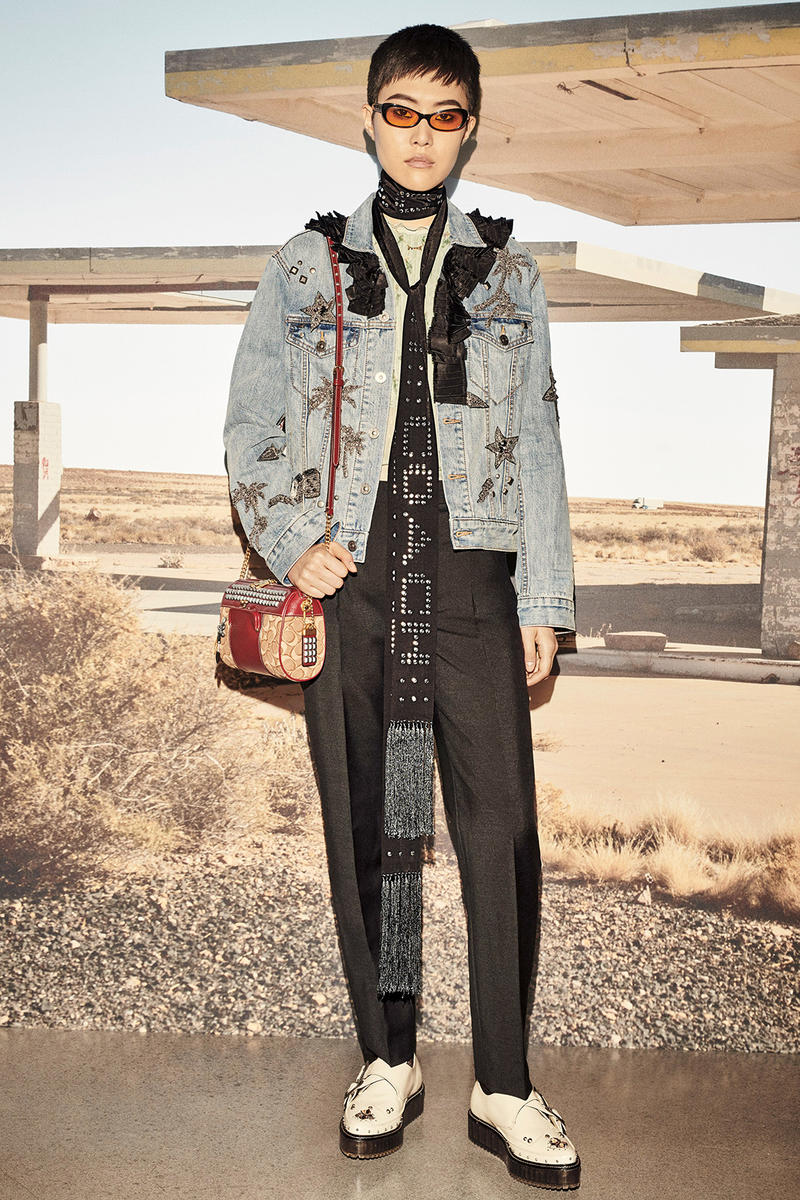 Coach 1941 Resort 2019 Lookbook collection release date info drop viper lounge stuart vevers hollywood california