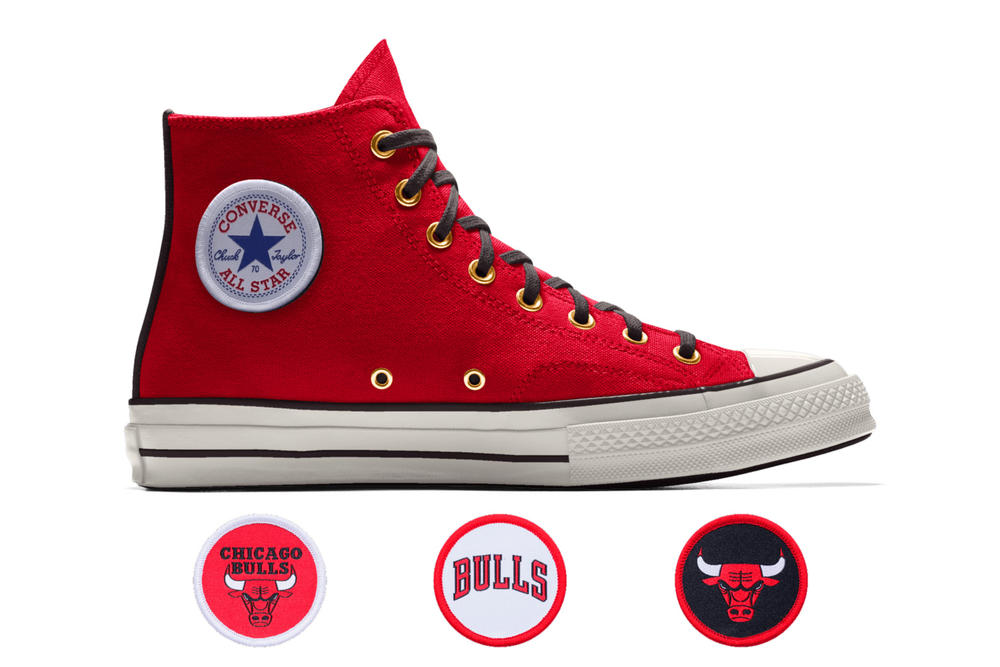 Converse Custom Chuck 70 NBA High Philadelphia 76ers boston celtics chicago bulls cleveland cavaliers golden state warriors oklahoma city thunder houston rockets new york knicks san antonio spurs