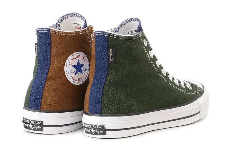 Converse Chuck Taylor All Star GORE TEX Multicolor japan green blue white