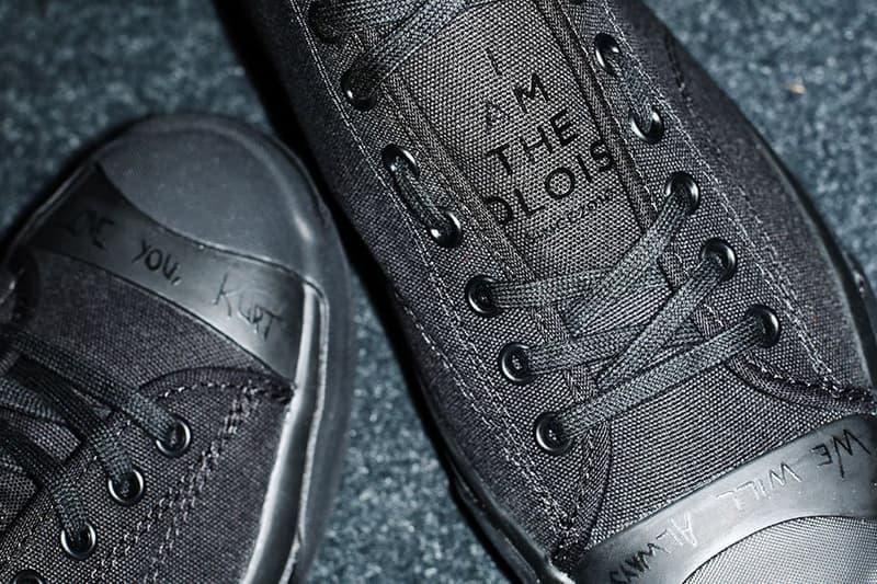 Converse Jack Purcell x TAKAHIROMIYASHITA TheSoloist. Collab Shoes Sneakers Kicks Trainers Closer Look Available Now Purchase Amazon Fashion JP Tokyo Nirvana Kurt Cobain