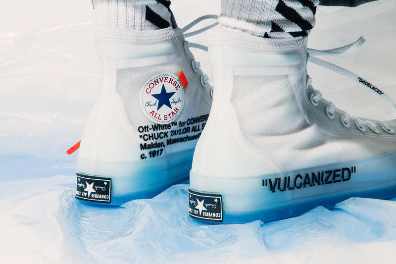 Converse x Virgil Abloh Chuck 70's The Ten Closer Look On-Foot Release Information Details How to Buy Cop Purchase Resell Retail Price