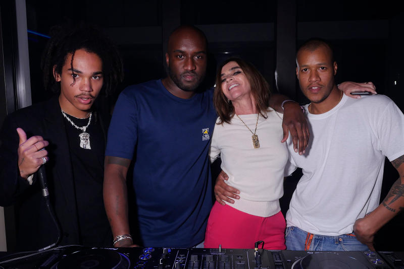 CR Fashion Book Party Recap Virgil Abloh Heron Preston Luka Sabbat Carine Roitfeld Paris Hilton Halima Photography Magazine Cannes Film Festival 2018 71