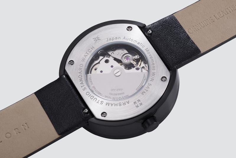 daniel arsham studio standard watch anicorn collaboration accessories design