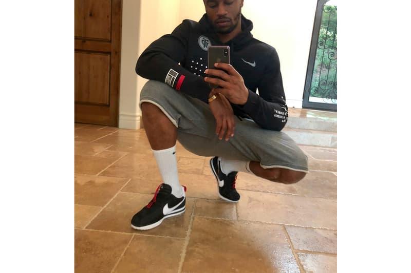 Dave Free Debuts New Kendrick Lamar Nike Cortez TDE nike sportswear