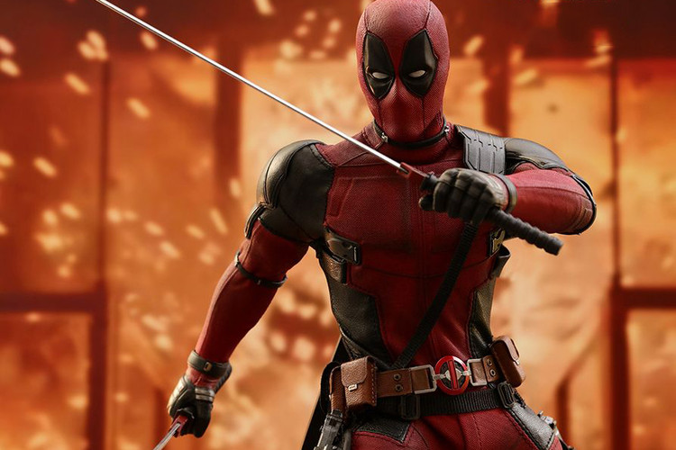 b00d71fe96f Hot Toys Unveils a Movie-Accurate  Deadpool 2  Collectible Figure