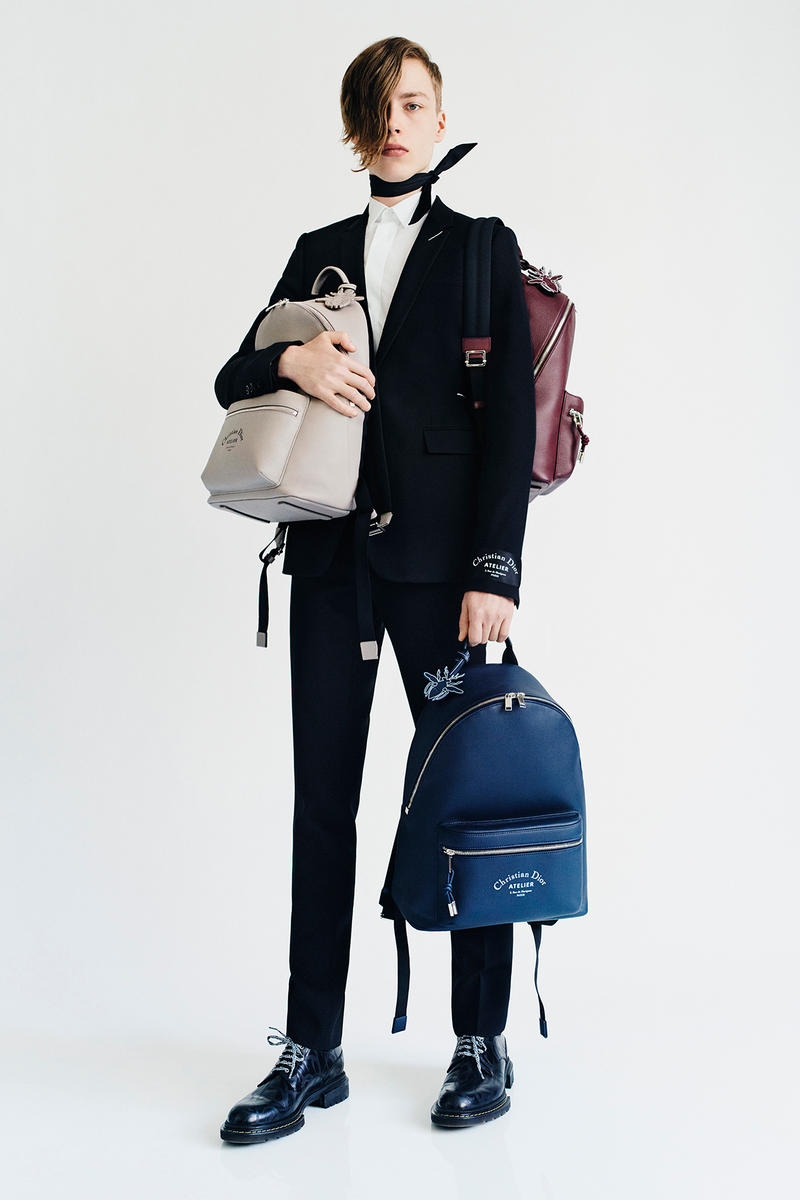 Dior Homme Atelier Fall 2018 Bags crossbody baggage duffle bags backpack briefcases accessories travel