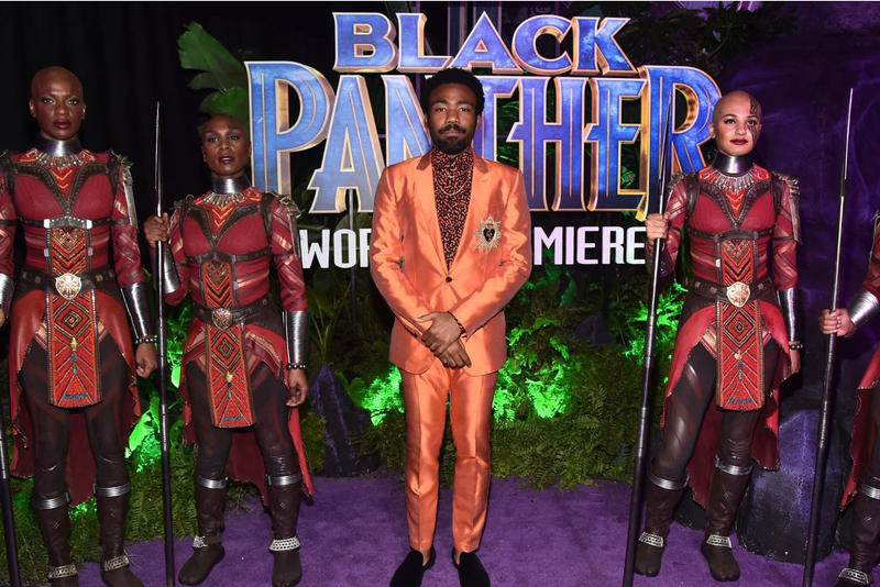 Donald Glover Black Panther Joke