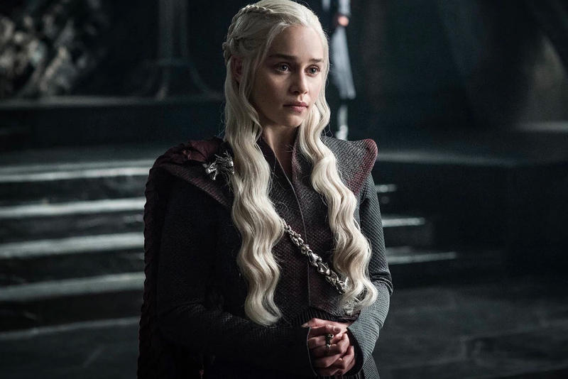 Emilia Clarke Game of Thrones Season 8 finale spoiler Daenerys targaryen iron throne teaser hints clues plot twist hbo