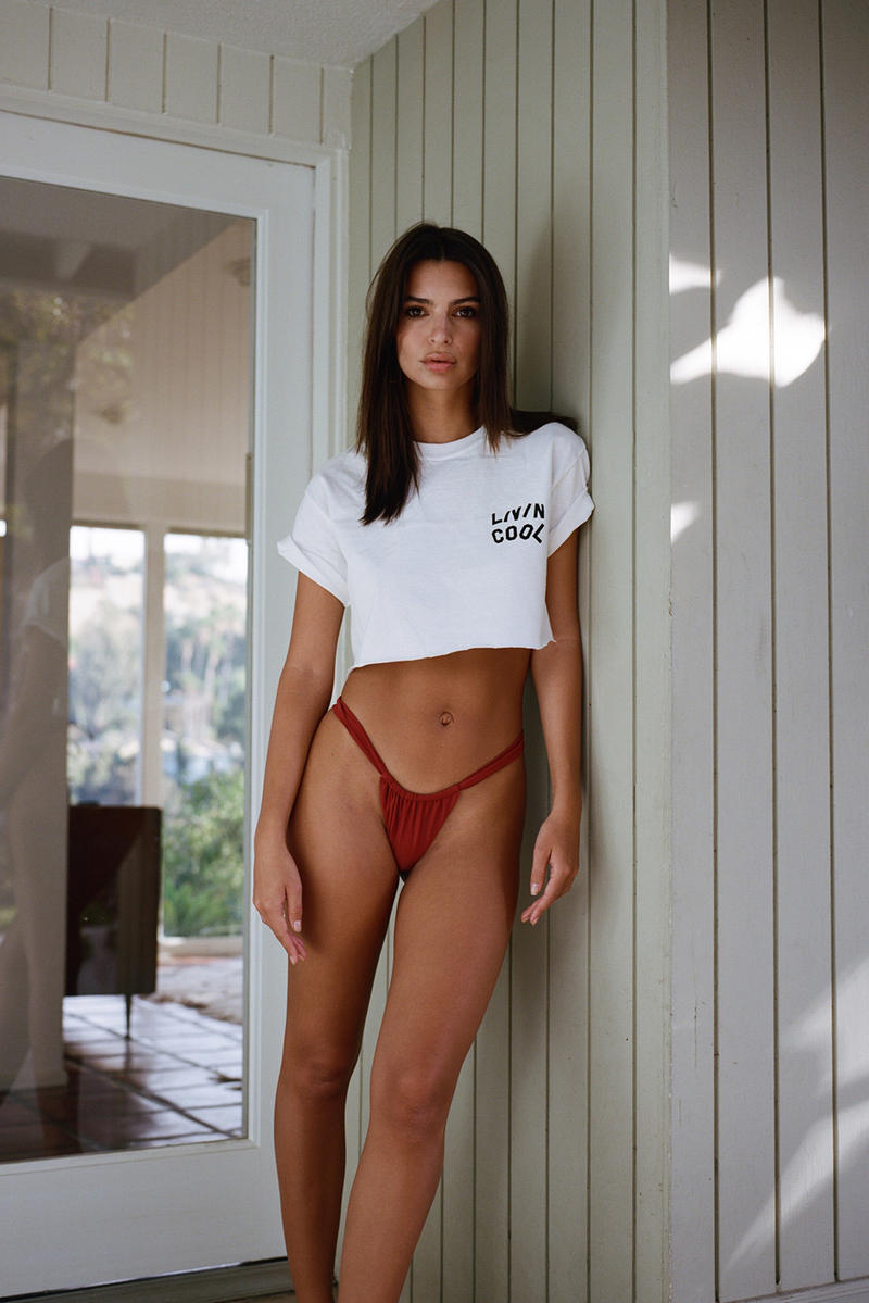 LIVINCOOL Emanuele D'Angelo Emily Ratajkowski Collection Lookbook streetwear