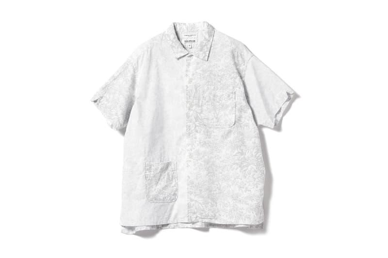 Engineered Garments x Beams Boy Reverse Capsule Japan fashion shirts hats jackets accessories beams timex watch hoodie camp Shirt Inside-Over tee Pullover Parka Coach Blazer Balloon Shorts Mirror Hat