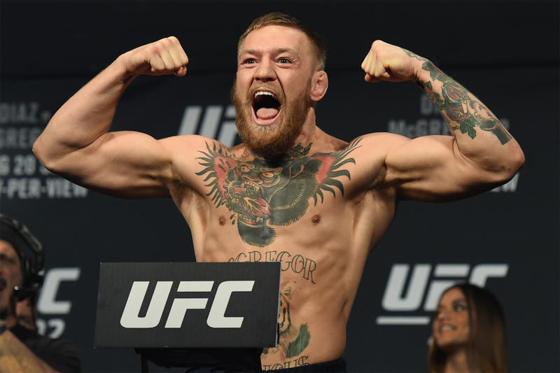 Conor McGregor ufc fighting champ