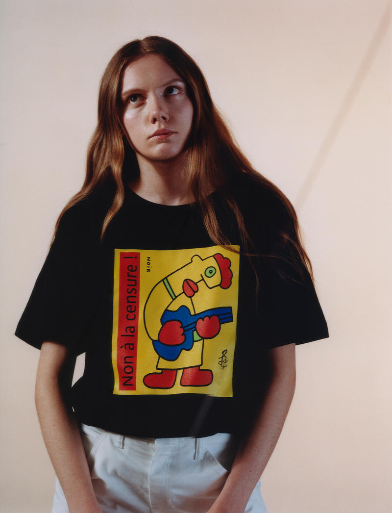 Everpress 50/50 x Amnesty International T-Shirt Collection Dexter Navy Liam Hodges Octavian Maria Falbo Copson Brick Magazine ASSID
