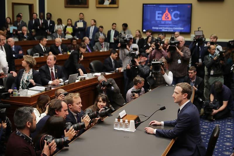 Faceboook Cambridge Analytica Data Models 2017 Donald Trump Mark Zuckerberg US Congress Testimony Senate