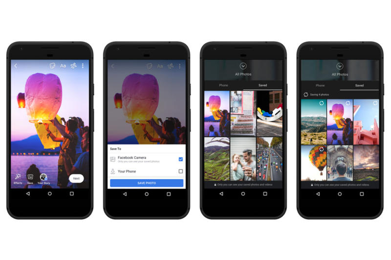 Facebook Stories Archive Voice Cloud Features instagram snapchat compete app update