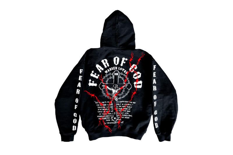fear of god warren lotas exclusive hoodie