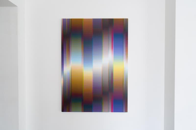 felipe pantone exces de vitesse alice gallery brussels belgium exhibition art artwork paintings