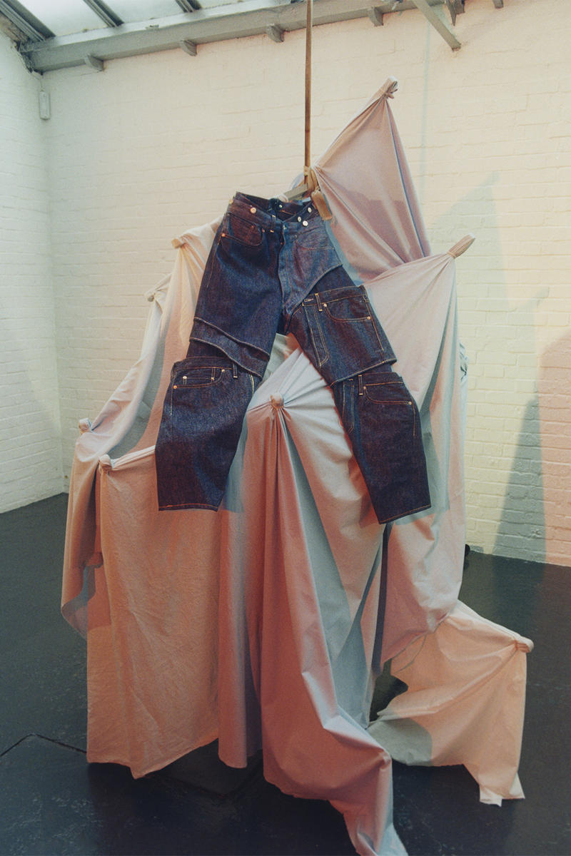 Feng Chen Wang Levis 501 Collaboration may 2018 release date info drop jean jeans denim