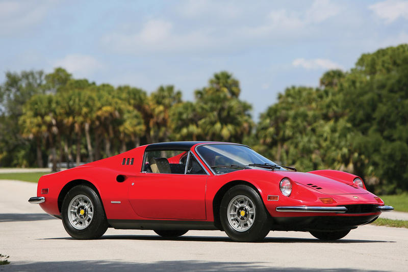 Ferrari 1974 Dino 246 GTS Auction Available Now Bid Buy RM Sotheby's Rare Classic Car Buy Collection Purchase