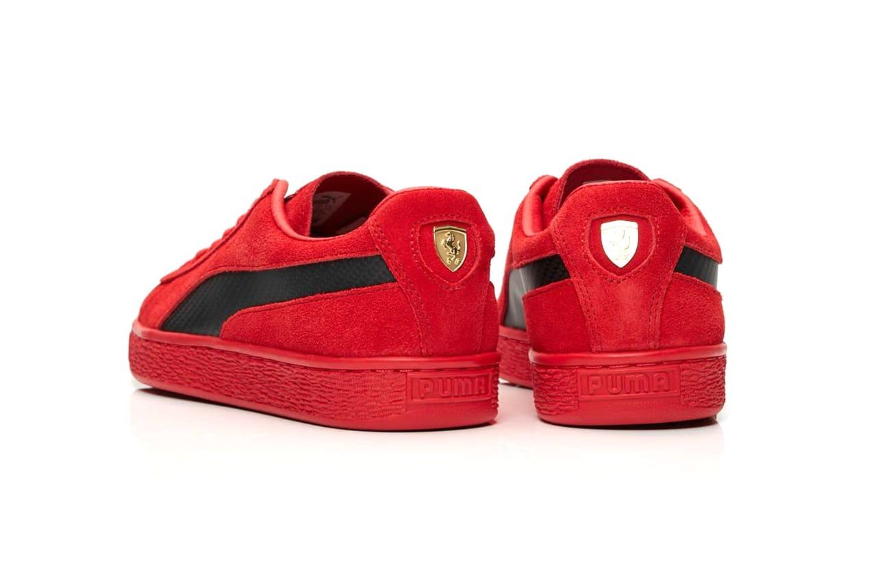 "Ferrari Puma SF Suede 50 ""Rosso Corsa"