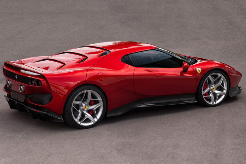Ferrari SP38 one off revealed racing track car automobile may 26 display italy