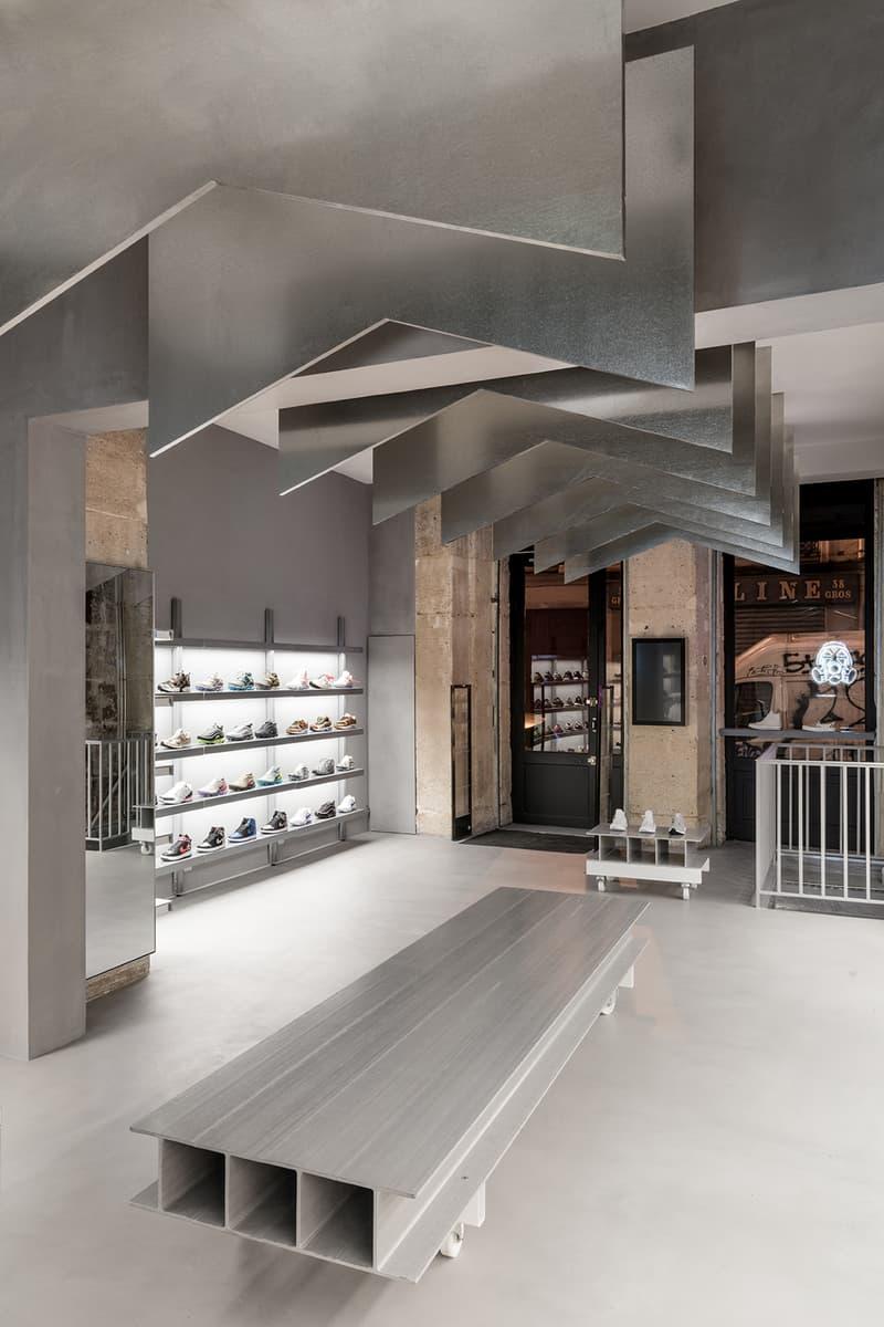 Footpatrol New Paris Store 45 Rue du Temple Le Marais District Sneakers Kicks Trainers Shoes