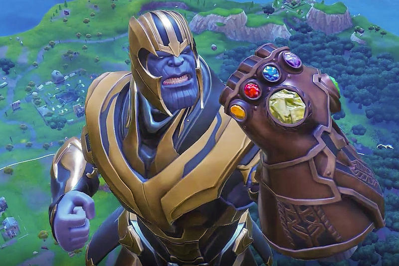 Fans Add 'Fortnite' Thanos to Marvel Movies | HYPEBEAST