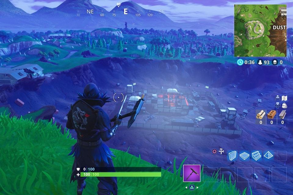 Fortnite new dusty divot