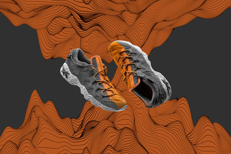 FOSS ASICS Tiger GEL Mai Development Sunrize may 2018 release date info drop sneakers shoes footwear collaboration