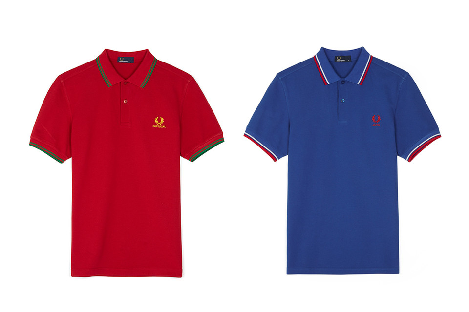 b6a49e2b2 Fred Perry FIFA World Cup Country Shirts Range