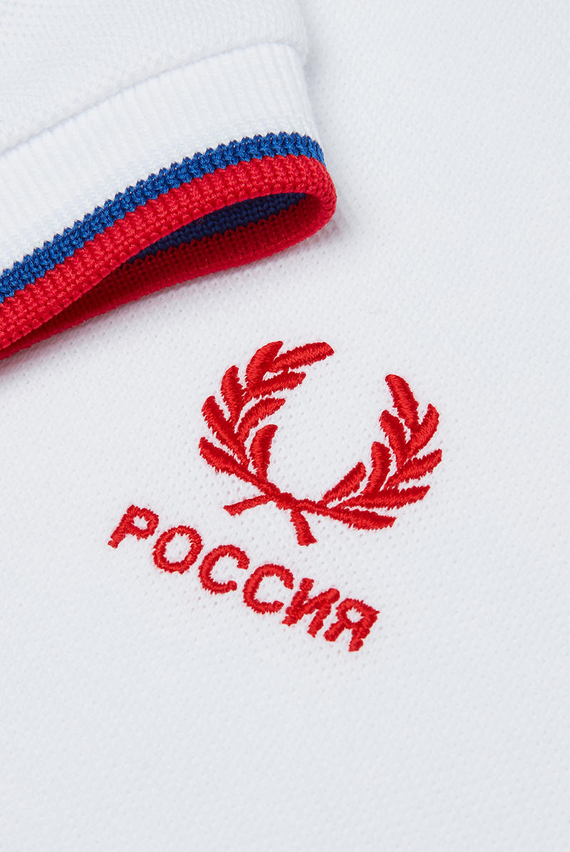 Fred Perry FIFA World Cup Country Shirts collection polo soccer Russia England Brazil Belgium France Germany Spain Portugal Sweden Japan South Korea