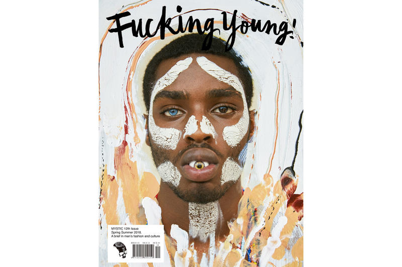 "'Fucking Young!' Magazine Issue 12 ""Mystic"" inside look editorials fashion lucky select model management"