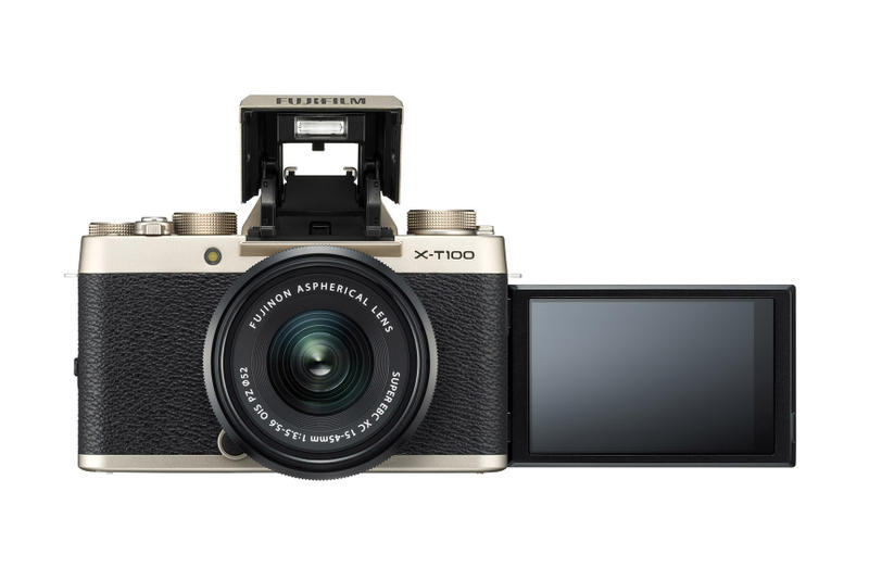 Fujifilm X-T100 Mirrorless Camera Details Availability To Buy Pricing Instax Polaroid Finepix Digital Instant New Compact