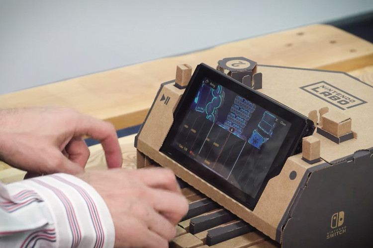 e3d10ab35abb This Is How the  Game of Thrones  Theme Song Sounds on a Nintendo Labo