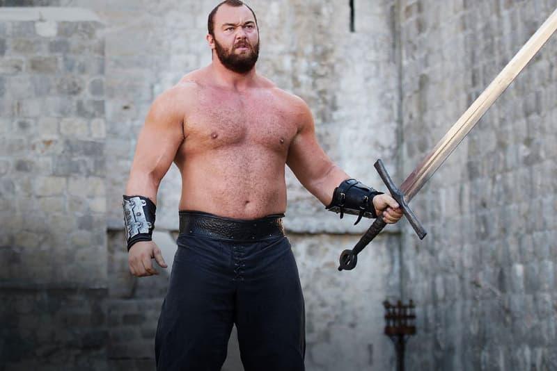 Game of Thrones The Mountain Worlds Strongest Man 2018 Hafthor Julius Bjornsson