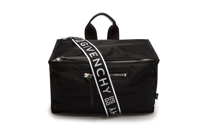 1c6a5d7adcc9 Givenchy Logo Print Messenger Bag Black available now purchase price