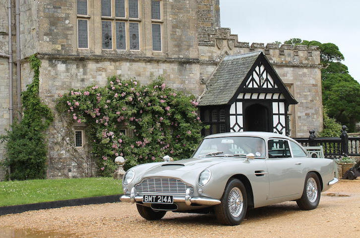 Goldeneye 1965 Aston Martin DB5 Bonhams Auction Cars Vehicles Pierce Brosnan 007 movies films classic cars British Aston Martin