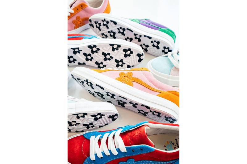 GOLF le FLEUR* Tyler The Creator New Two Tone Colorways Pink Blue Orange Pastel Summer Release Information Details Closer Look
