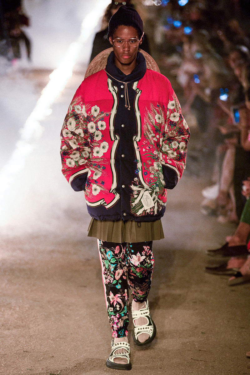 Gucci Resort 2019 Runway Collection Alyscamps Arles France Alessandro Michele runway