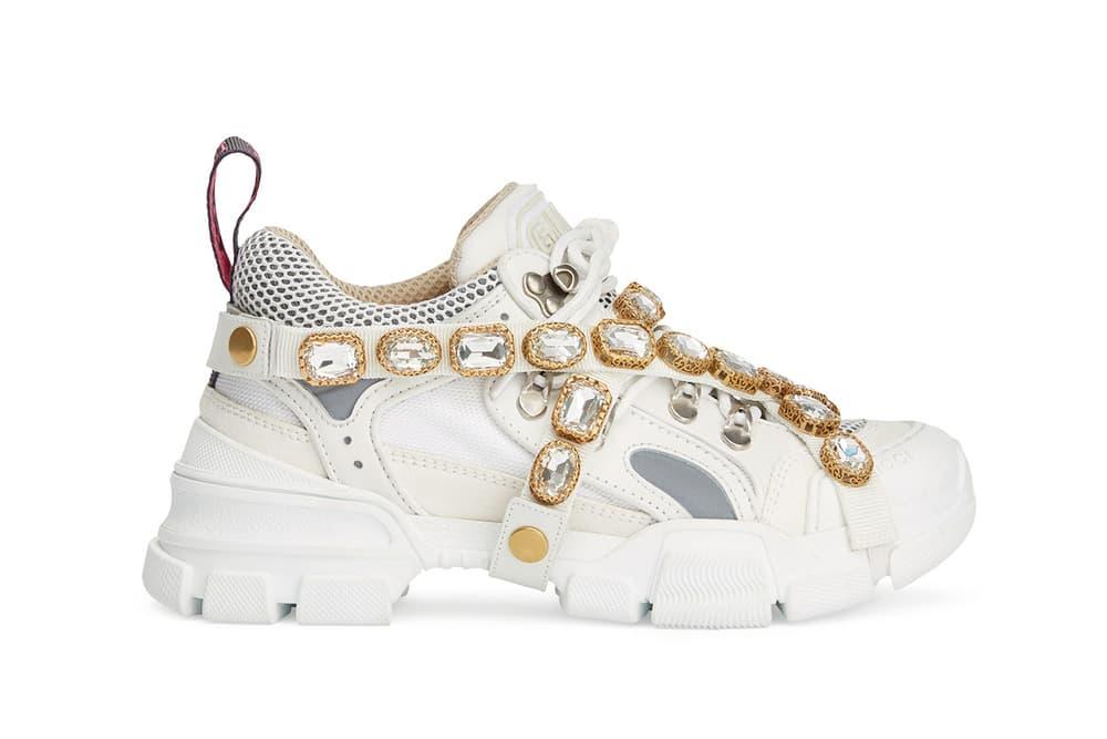 Gucci SEGA Chunky Jewels Sneaker Green Pink Black White